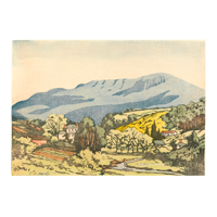 Mt Wellington, Hobart print