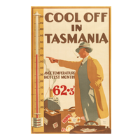 Cool off in Tasmania poster