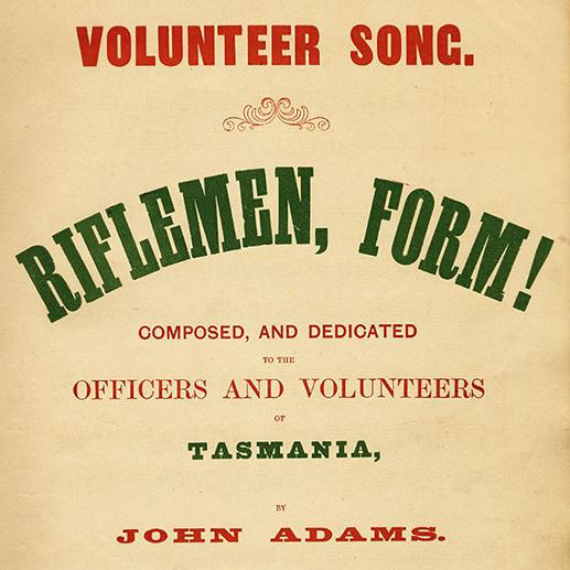 Find Tasmanian music scores and read tehm online