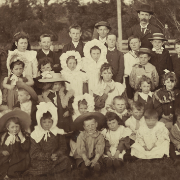 Sunday School Picnic - Photograph