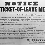 Notice to Ticket-of-Leave Men